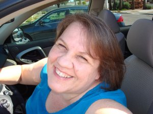 Charlene Kingston driving around Phoenix and the Sonoran desert in her RAV4.